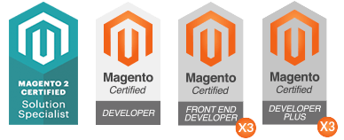 Magento Certified Developers and Solution Specialist